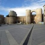 Puerta de Alcazar. Avila. Spanien