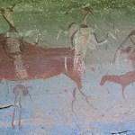 Klippmålningar. Drakensbergen (U)