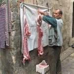 Köttbutik. Aleppo