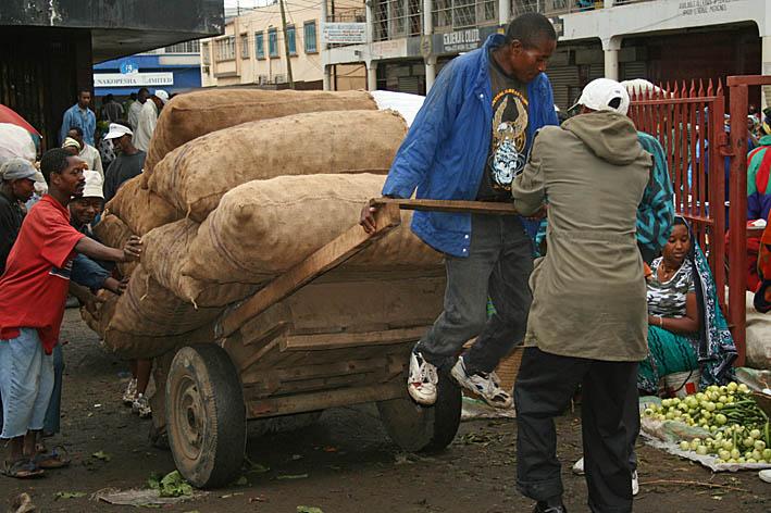 Marknaden. Arusha