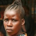 Kvinna. Marknaden. Arusha