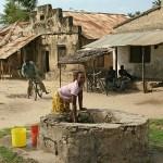 Vattenbrunn. Bagamoyo