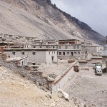 Världens högst belägna kloster, 4 930 möh. Rongbuk