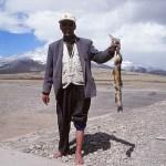 Helig fisk fångad vid Manosaravar