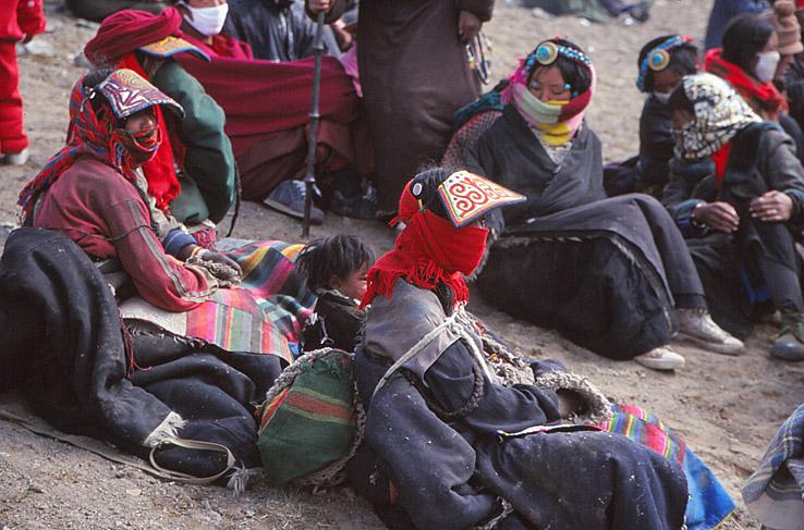 Saga Dawa festivalen. Tarboche