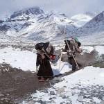 Pilgrimer på sin Kailash khora