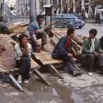 Tibetanska bärare. Lhasa