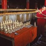 Smörstatyer. Jokhangtemplet. Lhasa