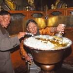 Smörlampa. Jokhangtemplet. Lhasa