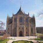 St:a Barbaras katedral. Kutna Hora (U)