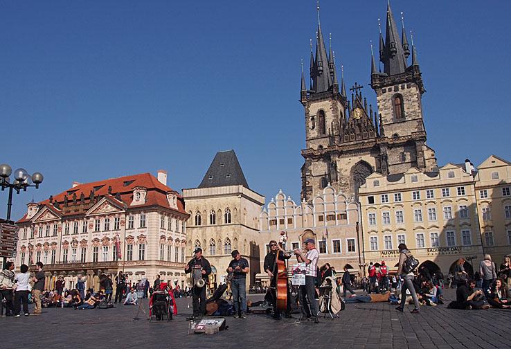 Gamla stadens torg. Prag (U)