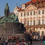 Jan Hus statyn. Prag (U)