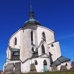 Pilgrimskyrkan. Zelena Hora. Tjeckien