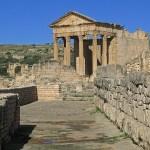 Romerskt tempel. Dougga (U)