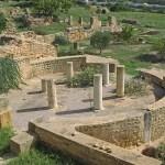 Romerska ruiner. Kartago (U)
