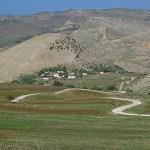Bergsväg mot Tabarka
