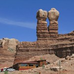 Navajo Twins. Bluff AZ