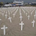 Protest mot Irakkriget. L A. CA