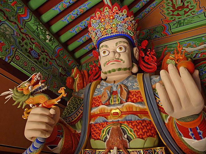 Beomeo-sa templet. Busan