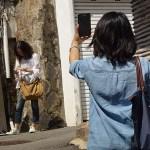 Fotografer. Bukchon Hanok. Seoul