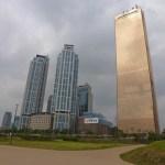 Skyskrapan 63 City. Seoul