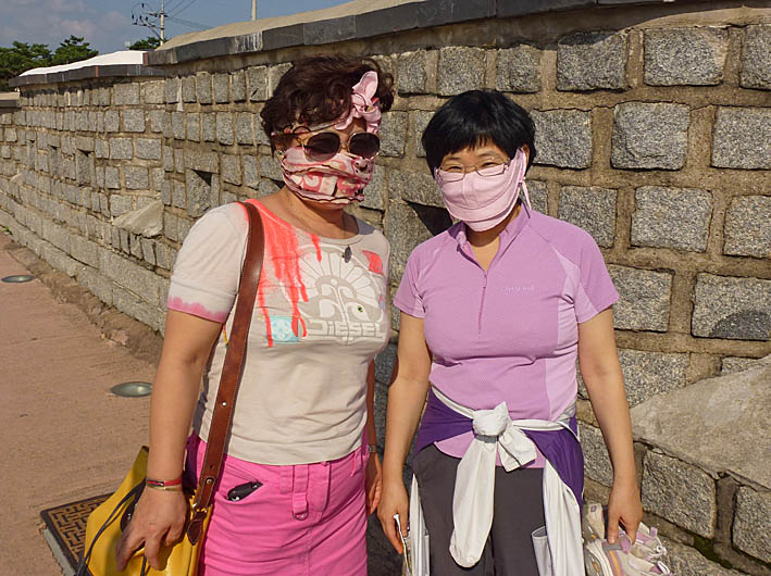 Två kvinnor. Suwon