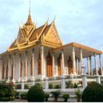 Silverpagoden. Phnom Penh