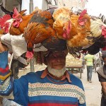 Spännande folkliv. Dhaka