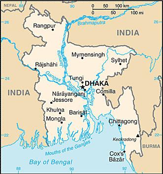 bangladesh karta bangladesh landsfakta, folkmängd, folkgrupper, bnp, karta, flagga  bangladesh karta