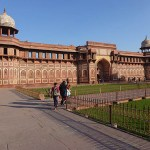 Red Fort. Agra. Indien (U)
