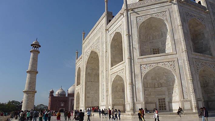 Taj Mahal. Agra. Indien (U)