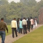 Indira Ghandis minnesmonument. New Delhi. Indien