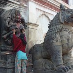 Böneceremoni. Bhaktapur