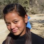 Ung kvinna. Changu Narayan