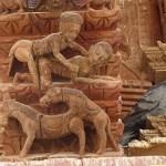 Tempelsniderier. Kathmandu