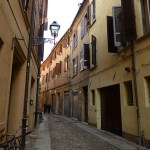 Ferrara. Judiska kvarteren