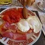 Full english breakfast! Douglas