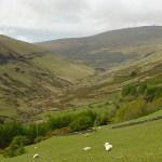 Den vackra Glen Mooar Valley
