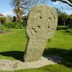 Ett av de första kristna korsen. Lonan