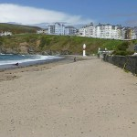 Stranden. Port Erin