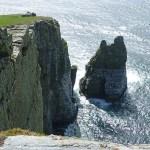 The Chasms, dramatiska klippor