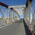 Gammal järnbro. Ramsey