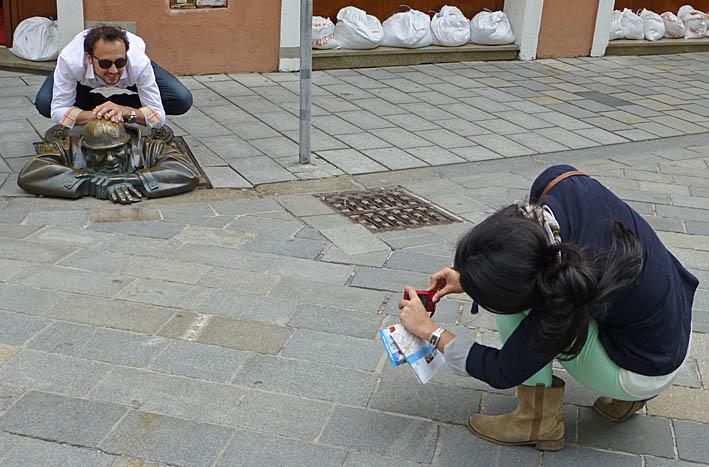"""""""The worker"""" är populär! Bratislava"""