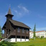 Träkyrkan. Dolny Smrkovec