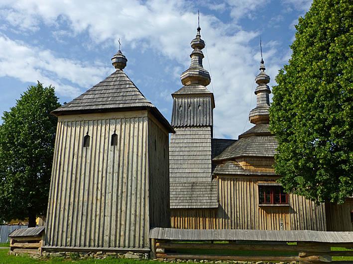 Träkyrkan. Ladomirova. Slovakien (U)