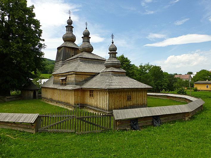 Träkyrkan. Mirola