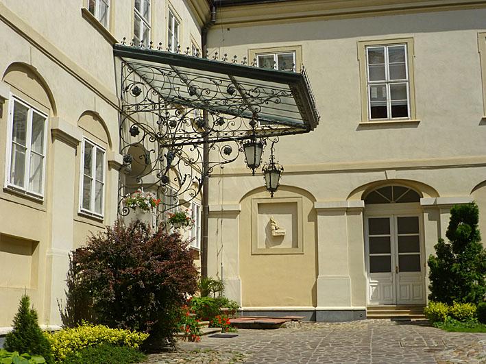 Biskopens palats. Nitra