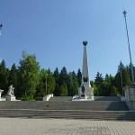 Sovjetmonumentet. Svidnik