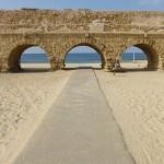 Romerska akvedukten. Caesarea