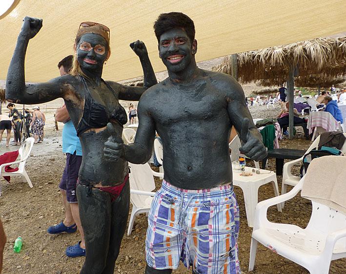 Lera är populärt! Döda Havet